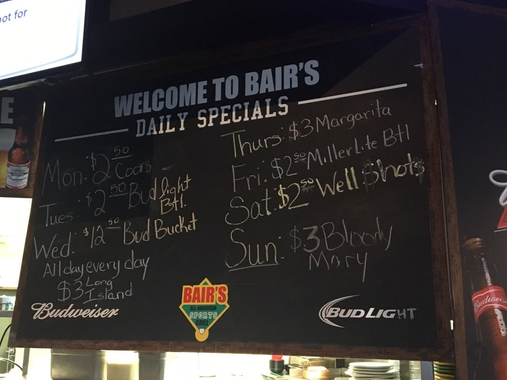 Bair's All-American Sports Grill