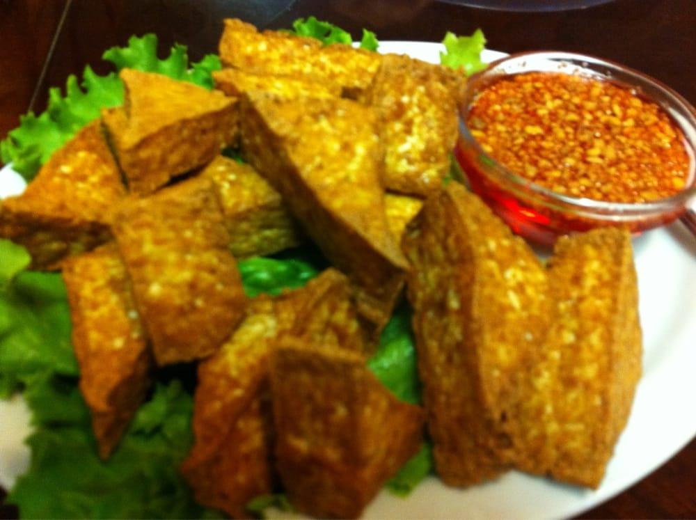 Appetizer Deep Fried Tofu With Sweet Thai Sauce Yelp