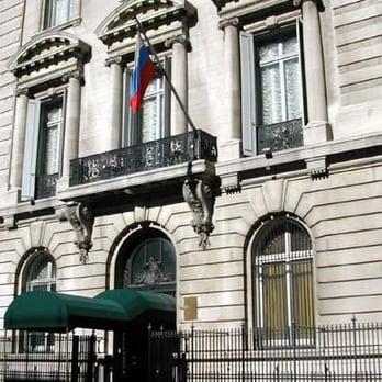 new york russian embassy in