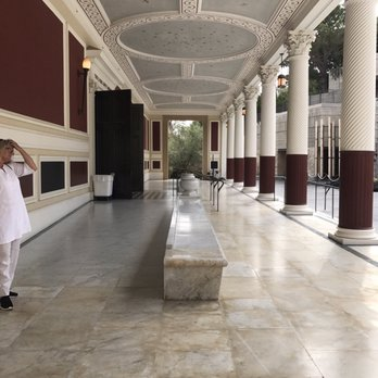 'Photo of The Getty Villa - Pacific Palisades, CA, United States' from the web at 'https://s3-media2.fl.yelpcdn.com/bphoto/2PXcqUJZX1g4S6A9wYdXZw/348s.jpg'