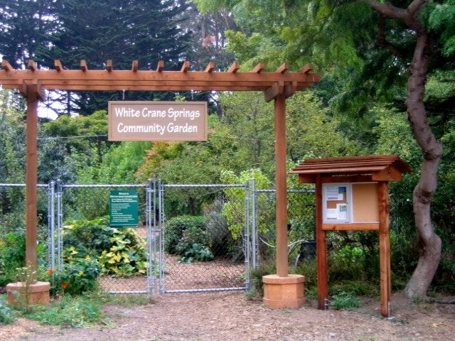 White Crane Springs Community Garden: 7th Avenue & Locksley, San Francisco, CA
