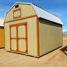 Firehouse portable buildings 20 foto materiali da for Materiali da costruzione casa