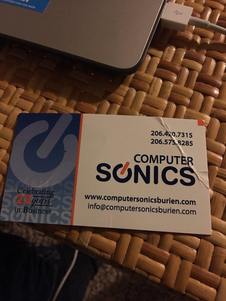 Computer Sonics: 15207 6th Ave SW, Burien, WA