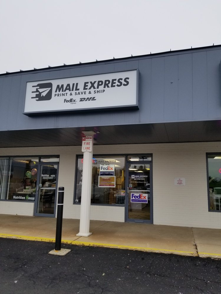 Mail Express: 600 N Broad St, Middletown, DE