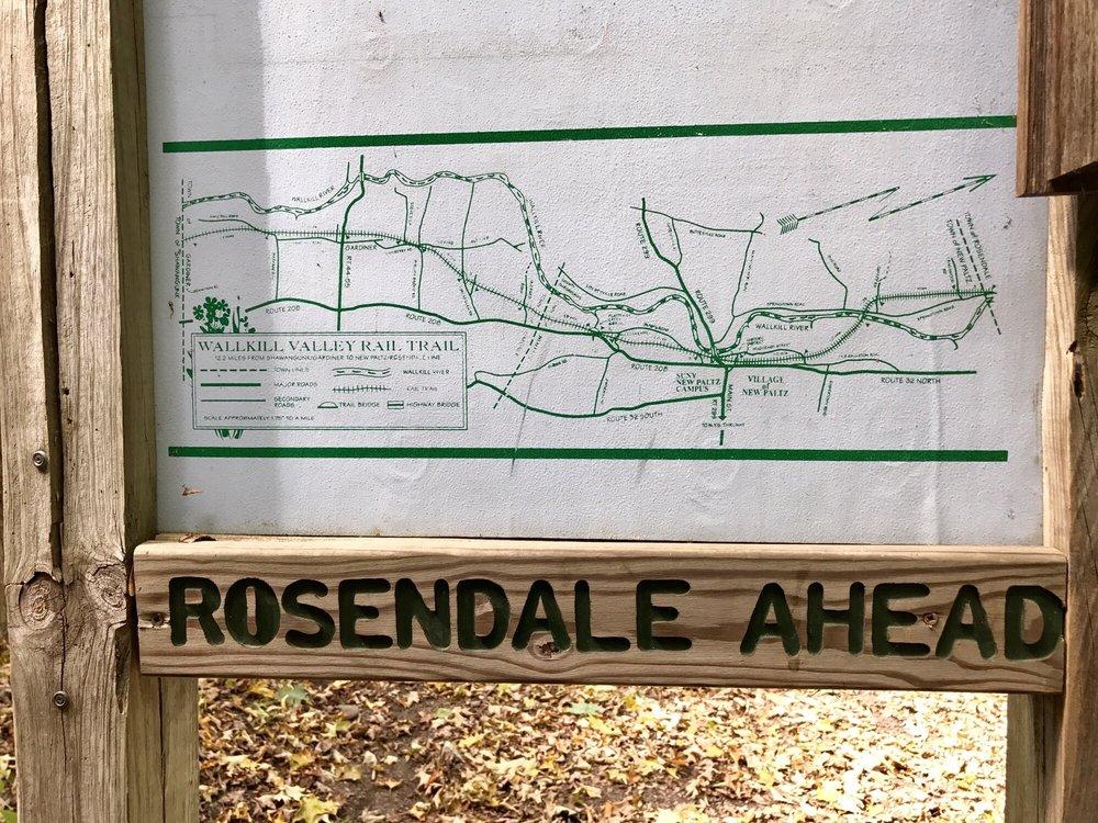 Wallkill Valley Rail Trail: 1-3 Main St, New Paltz, NY