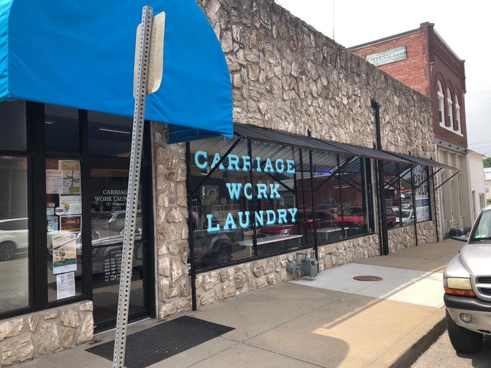 Carriage Work Laundry: 727 Shawnee St, Leavenworth, KS