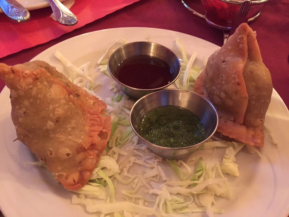 Photo of Flavors Of India - West Jordan, UT, United States. vegetable samosa