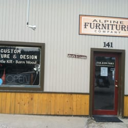 Alpine furniture company furniture stores leadville for Furniture stores in the states