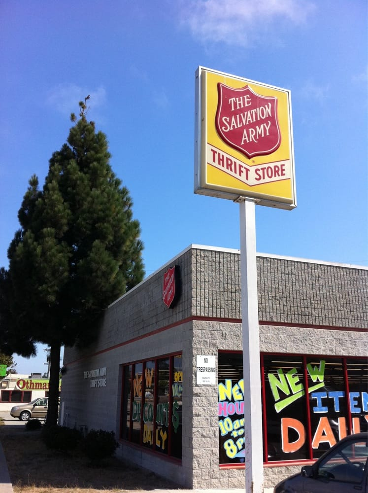 Salvation Army Thrift Store 10 Reviews Thrift Stores 326 N Main St Salinas Ca United