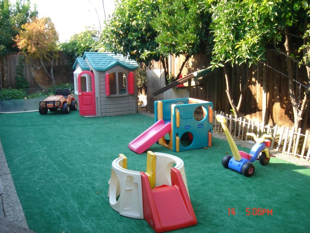 Photo of Parvin's Family Daycare - San Jose, CA, United States. Backyard  Play - Backyard Play Area - Yelp
