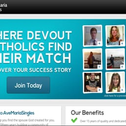 ave maria dating online Links to online religious publications for additional information on up-to-date topics, follow the links below to additional resources ave maria singles one of our longtime supporters, and the best site on the web for single catholics learn more read catholic answers' pillar of fire, pillar of truth for a good.