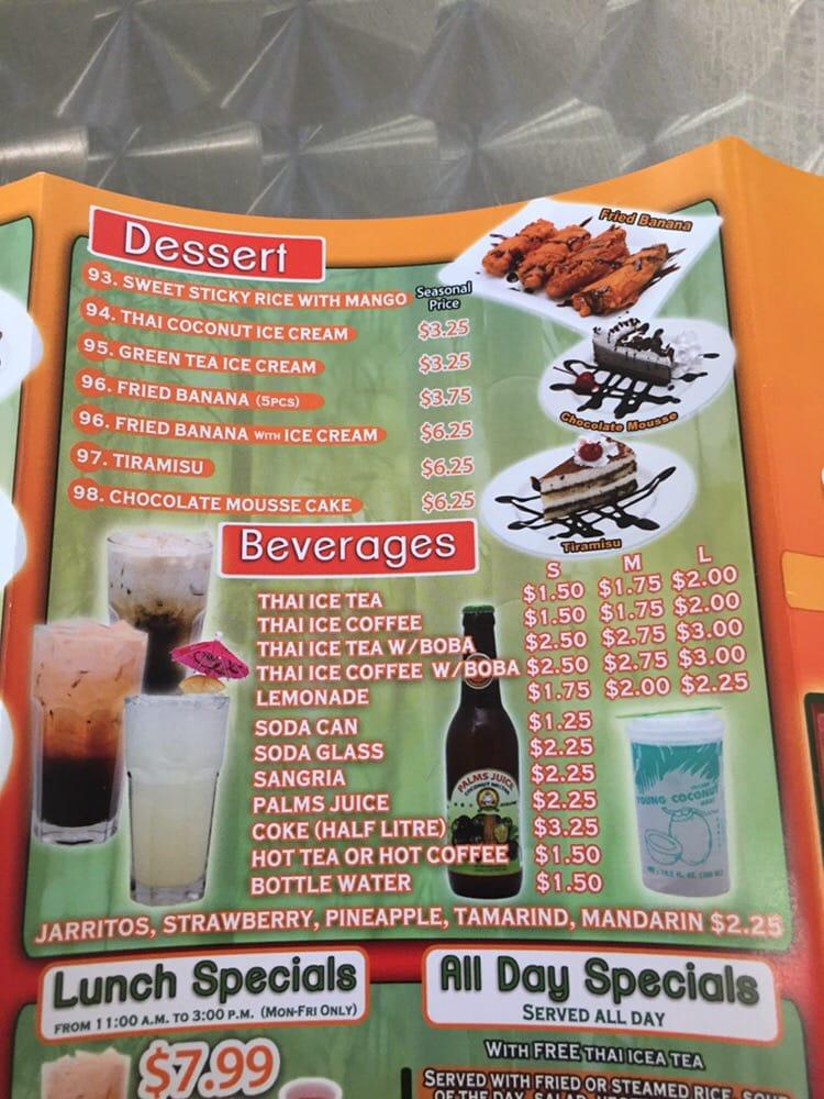 Thai Restaurants Near Cvg