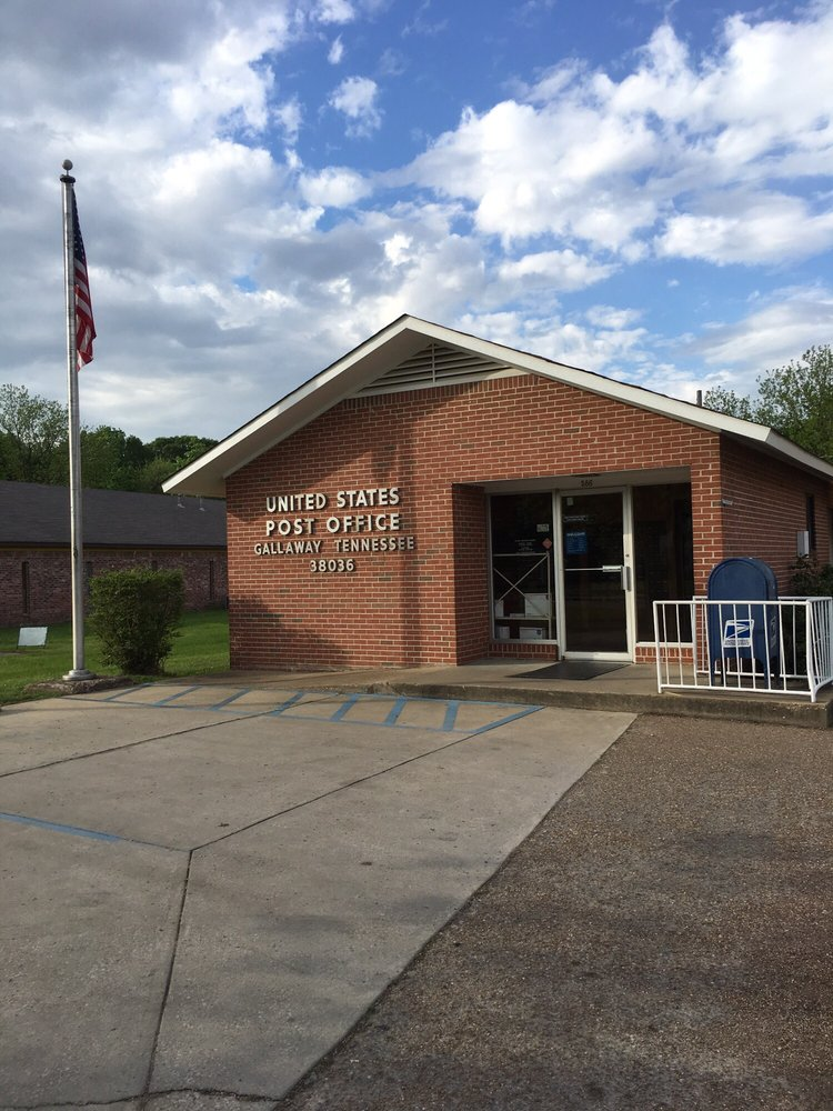 United States Post Office: 586 Old Brownsville Rd, Gallaway, TN