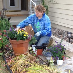 Photo Of Home Sown Gardens   Eagan, MN, United States. Seasonal Containers