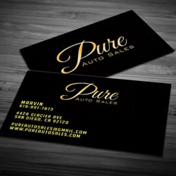 Project design works printing services 359 trousdale dr chula photo of project design works chula vista ca united states pure auto pure auto sales business cards reheart Choice Image