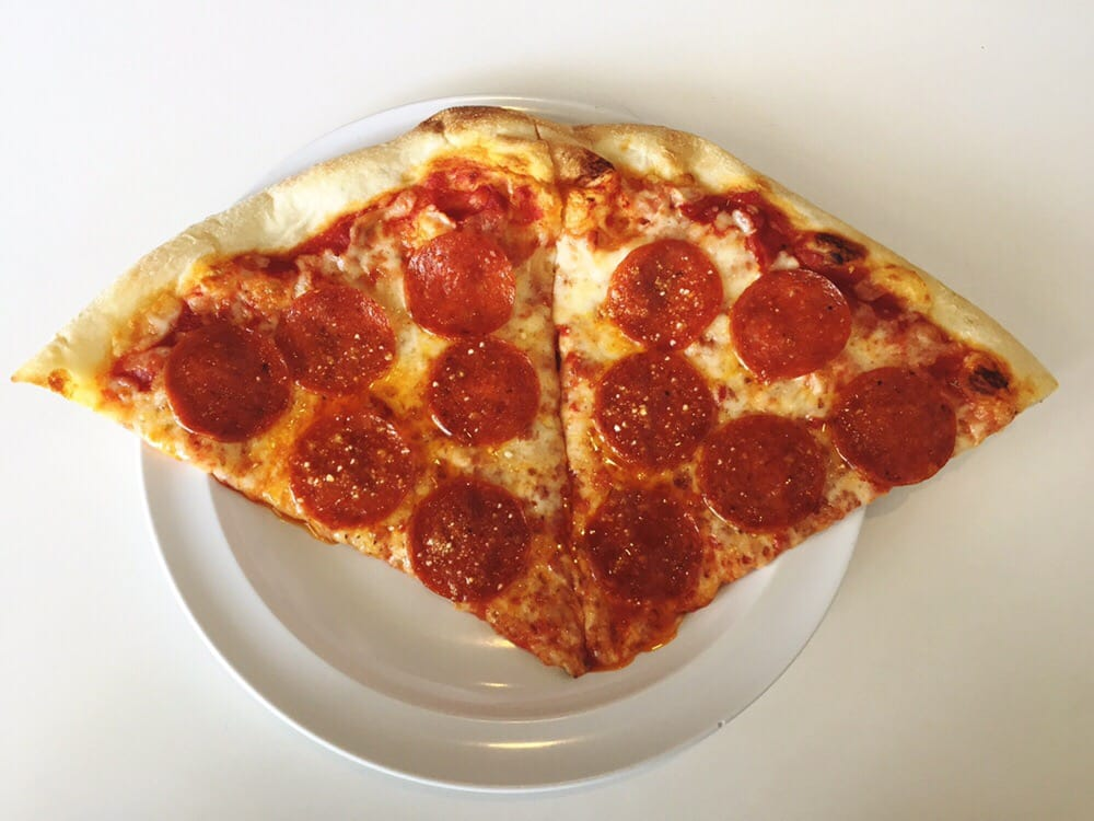 Photo of Big Apple Pizzeria - Salt Lake City, UT, United States. pepperoni pizza by the slice