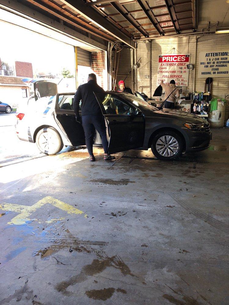 T&J Hand Car Wash: 7 E 46th St, Bayonne, NJ