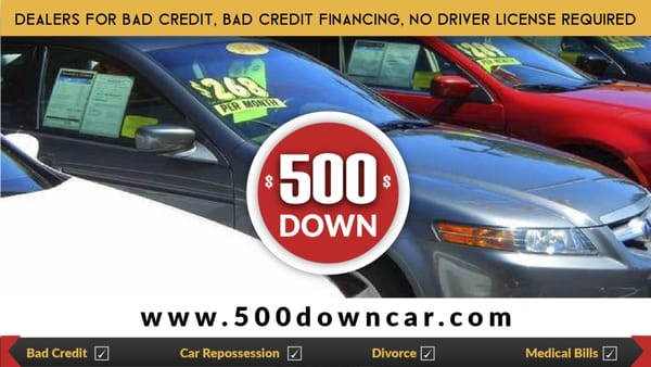 Car Dealerships In Minnesota For Bad Credit