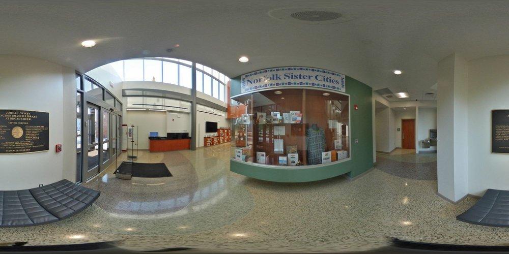 Jordan-Newby Anchor Branch Library at Broad Creek: 1425 Norchester Ave, Norfolk, VA