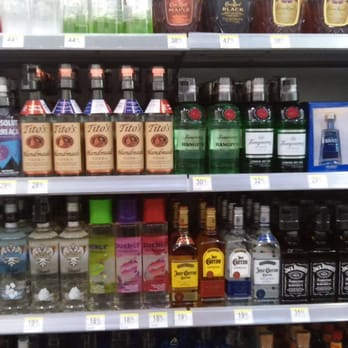 Po Of Walgreens Las Vegas Nv United States Liquor Selection