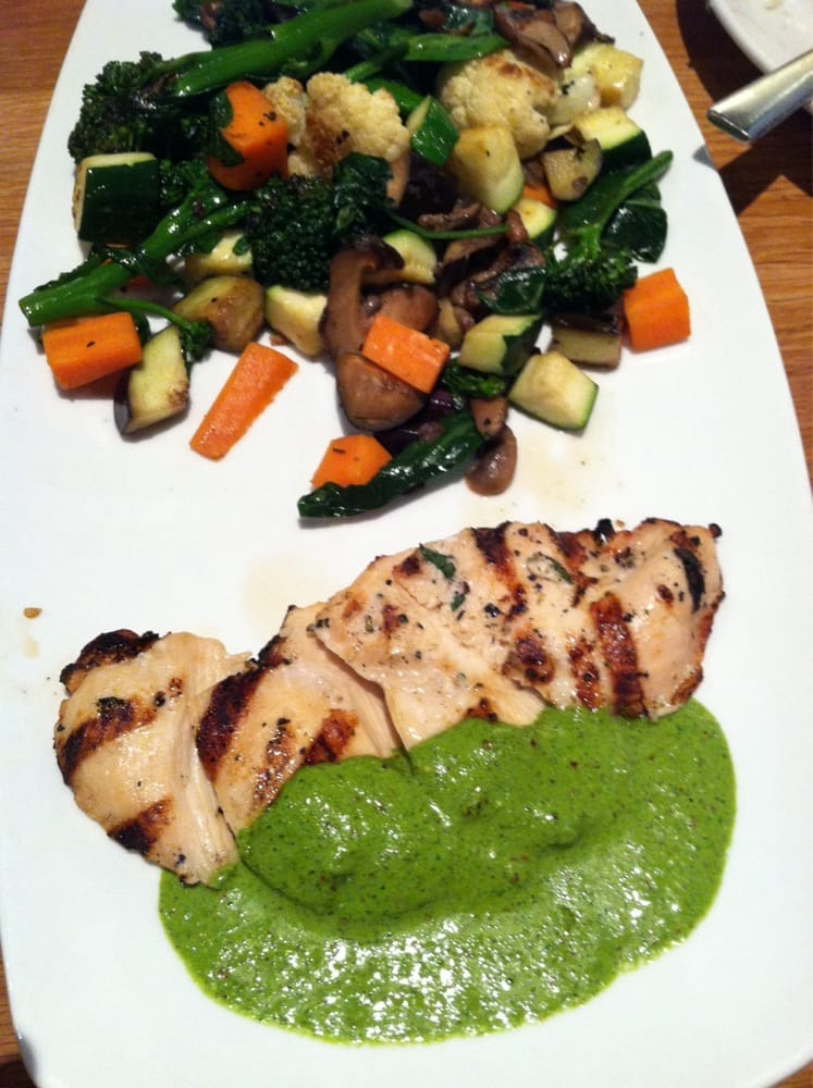 Grilled Chicken Chimichurri. A very healthy delicious hidden gem at ...
