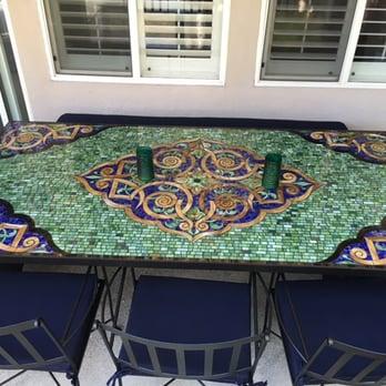 Photo Of Furthur   Los Angeles, CA, United States. Large Rectangular  Persian Mosaic