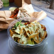 Arugula Taco Salad Menu Hipcityveg Philadelphia