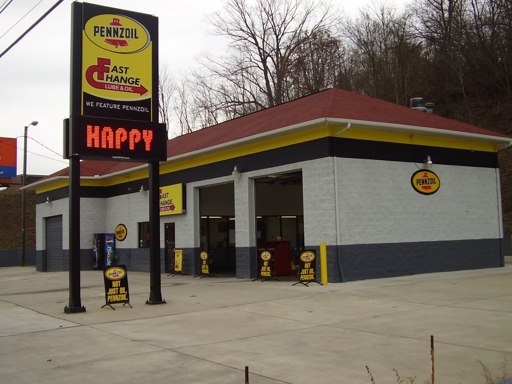 Fast Change Lube & Oil: 3511 US 60, Huntington, WV