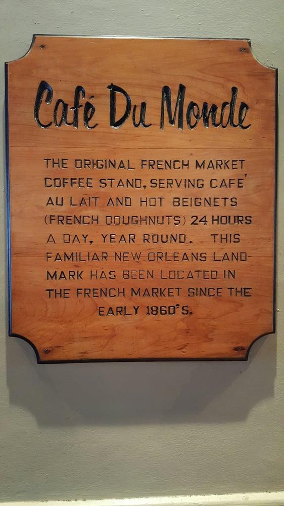 Cafe Du Monde New Orleans Address