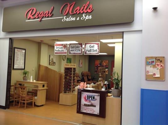 Regal nails and spa inside walmart nail salons 1980 for Acrylic nails walmart salon