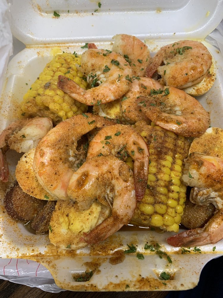 Food from K & S Seafood