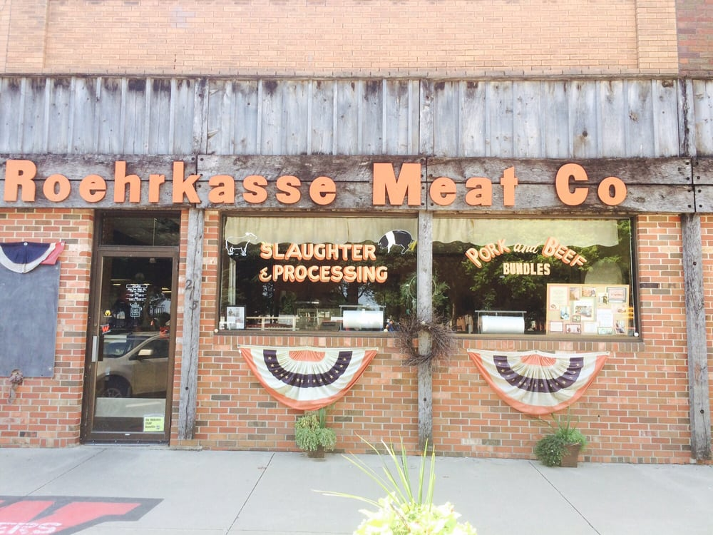 Roehrkasse Meat: 213 E Welsh St, Williamsburg, IA