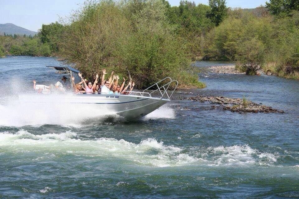 Rogue Jet Boat Adventures: 8400 Table Rock Rd, Central Point, OR