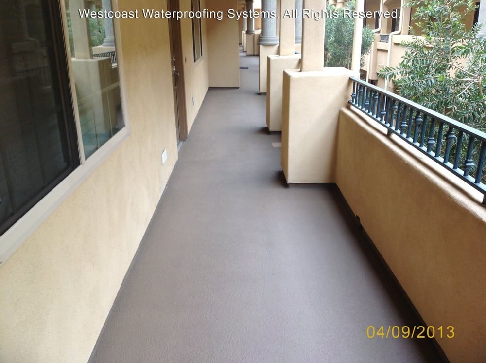 Deck Waterproofing Deck Coating Balcony Repairs Walkways