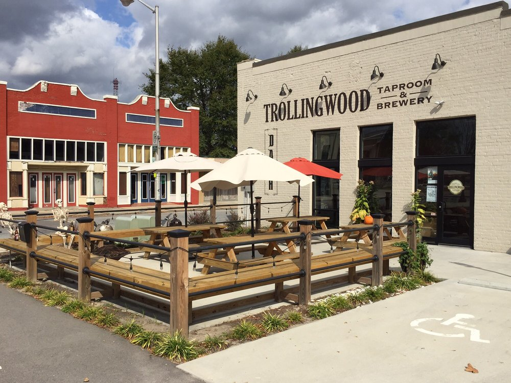 Trollingwood Taproom & Brewery: 707 Dickinson Ave, Greenville, NC