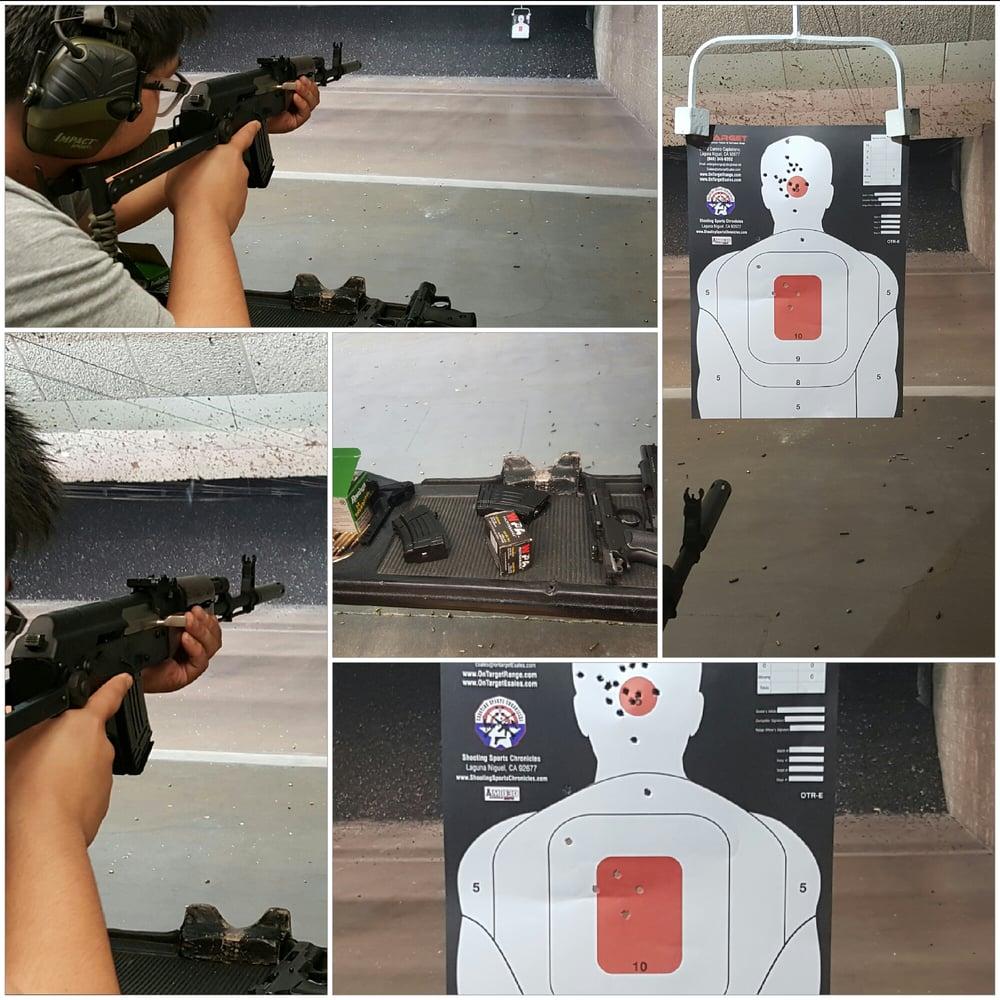 On Target Indoor Shooting Range: 27692 Camino Capistrano, Laguna Niguel, CA