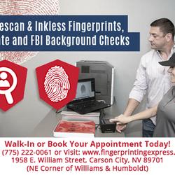 Fingerprinting Express Carson City 16 Photos Notaries 1958 E