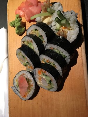 Photo Of Marc S Fusion Cafe Rockford Il United States Shrimp Tempura Roll