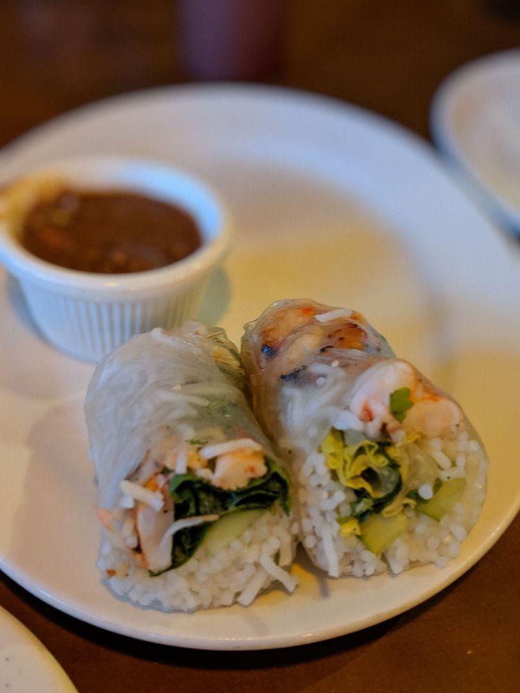 Food from Pho V Noodle House & Sushi