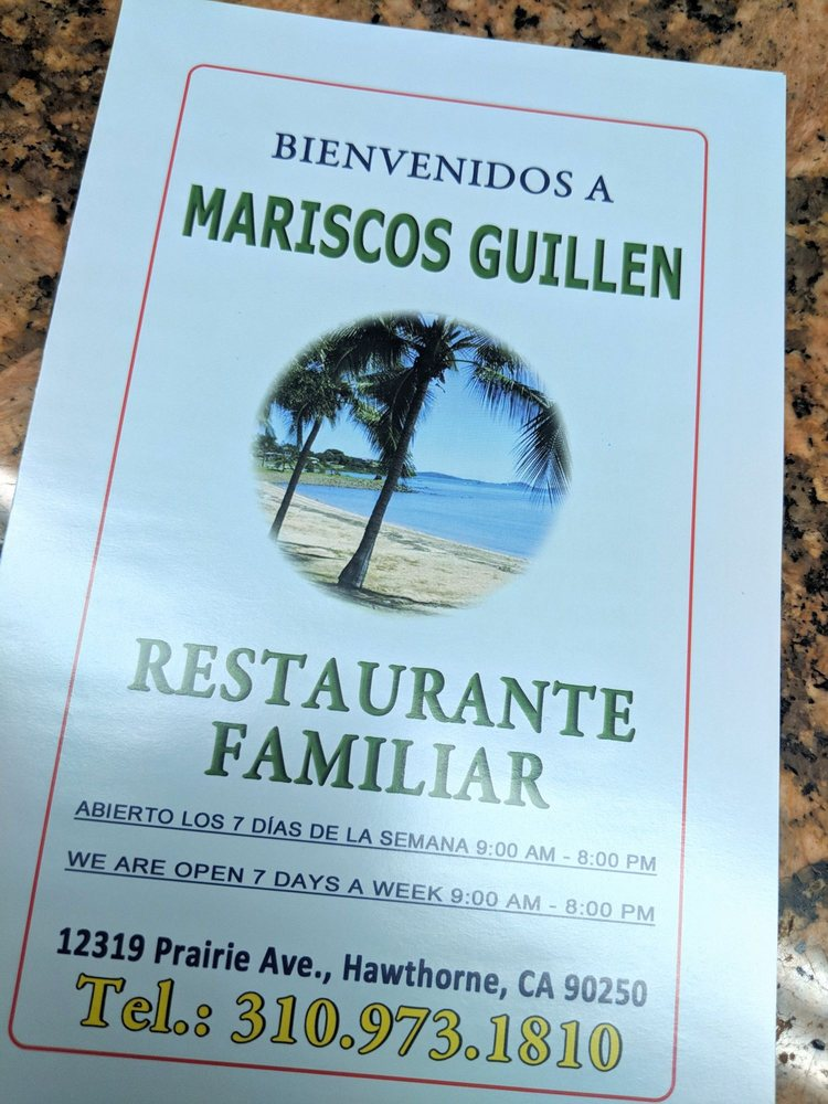 Mariscos Guillen: 6231 Eastern Ave, Bell Gardens, CA