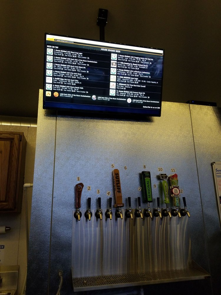 House Divided Brewery: 1620 Dows St, Ely, IA