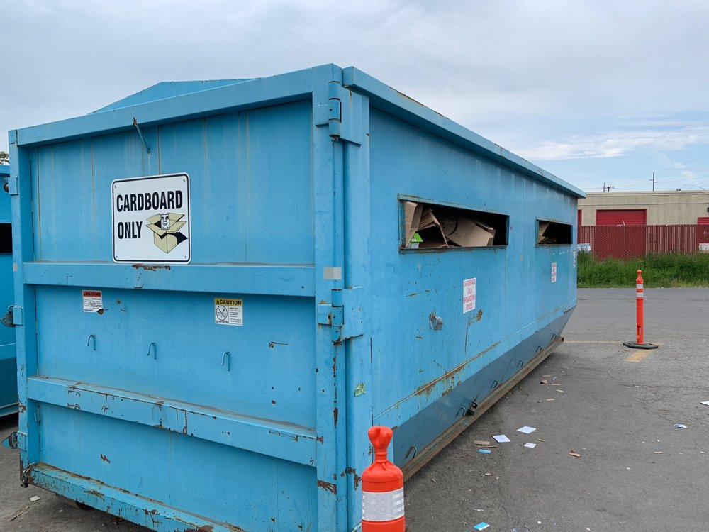 Anchorage Recycling Center >> Cardboard Only Dumpsters Yelp