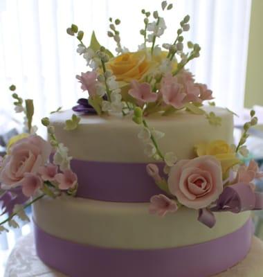 Potomac Bakery Wedding Cakes