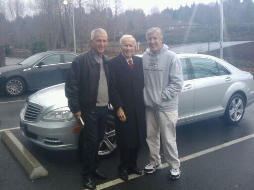 Phil Smart Jr Phil Smart Sr And Coach Carroll Of The