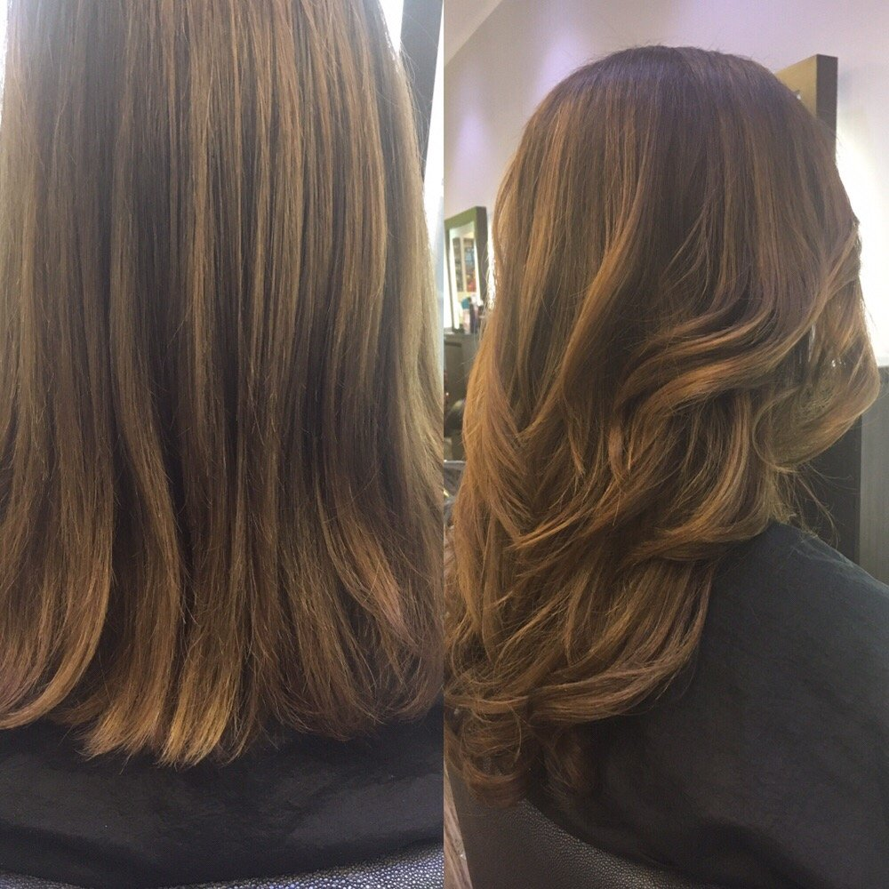 Before And After Babe Tape Hair Extensions Yelp