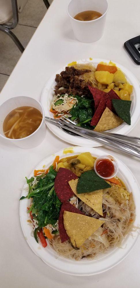 Hsi Lai Temple Vegetarian Buffet: 3456 Glenmark Dr, Hacienda Heights, CA