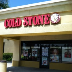Decided to treat my kids for some ice cream before catching a movie. Located in the Hollywood Mall across from Target, Cold Stone Creamery is a small store that offers a variety of soft serve ice.