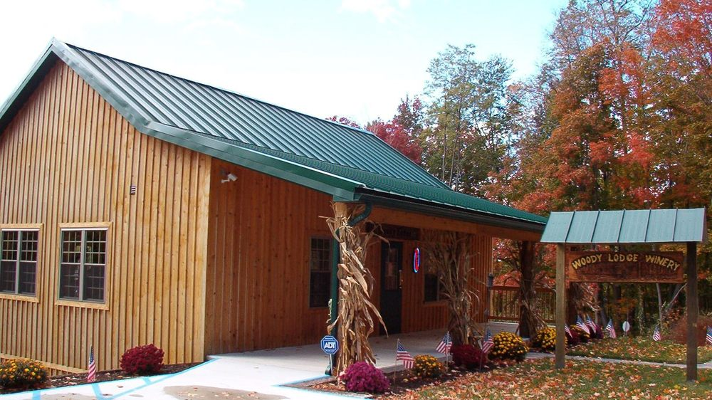 Woody Lodge Winery: 1301 Colonel Drake Hwy, Ashville, PA
