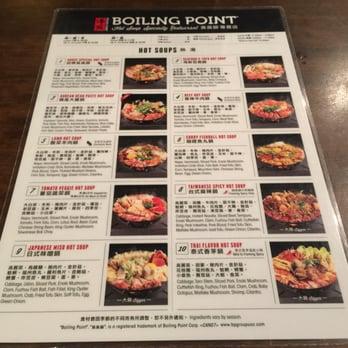 Boiling Point Restaurant