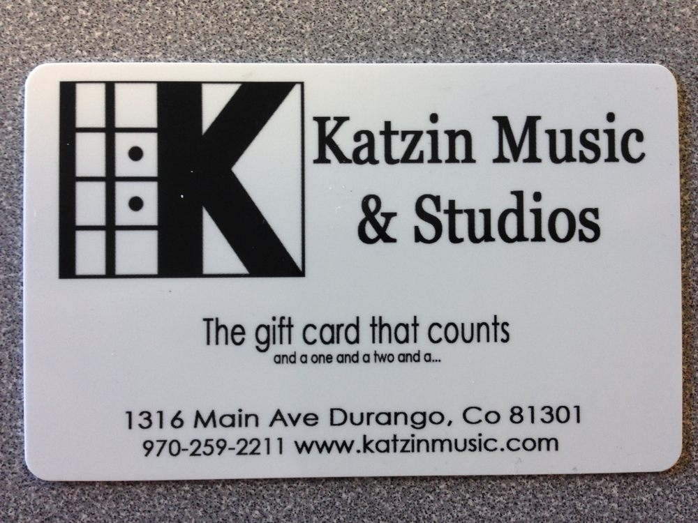 Katzin Music & Studios: 1316 Main Ave, Durango, CO